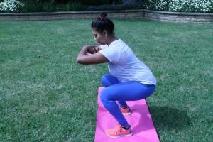 Amy squat